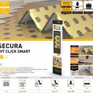 Apakšklājs Secura LVT Click Smart gridasstils.lv