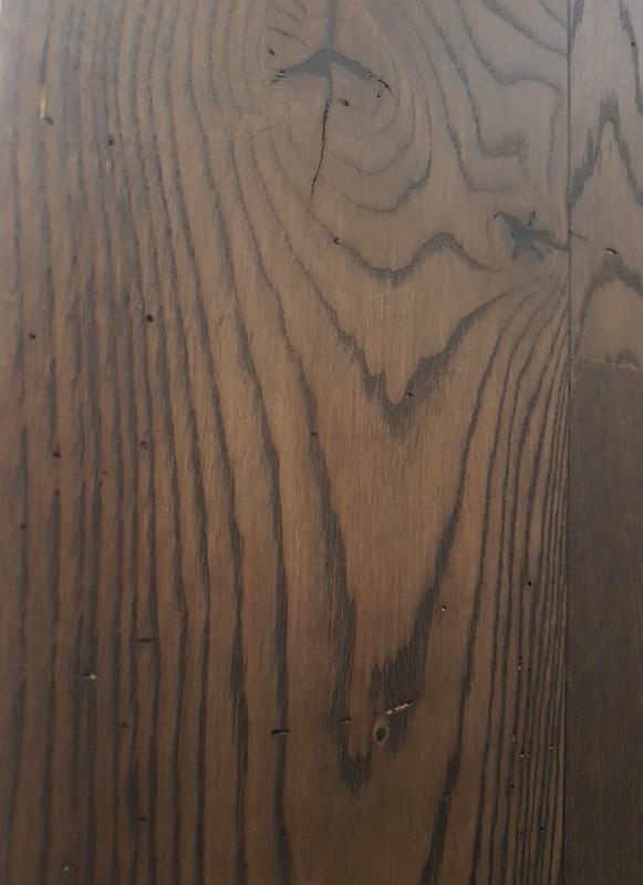 Boen parkets Ozols Brown Jasper Wormholes 181mm