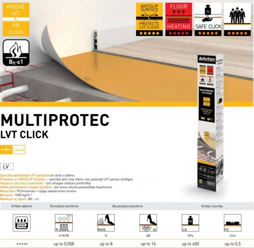 Apakšklājs Multiprotec LVT Click gridasstils.lv