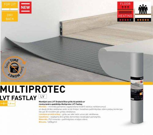 Apakšklājs Multiprotec LVT Fastlay
