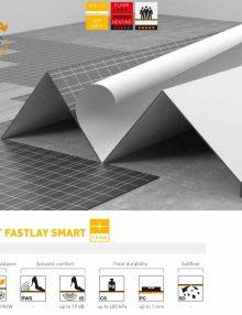 Apakšklājs vinilam Secura LVT Fastlay Smart