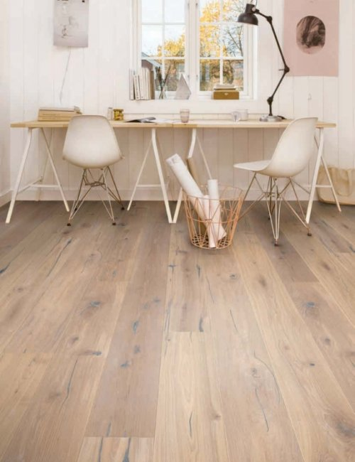 Boen parkets Oak Espressivo white 138